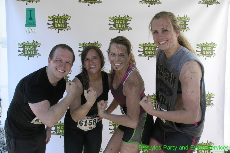 Happy to run the 2014 Kalamazoo Mud Run Race