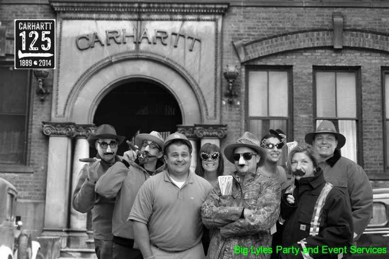 Group of Carhartt employees by first factory