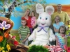 Easter Photos: The Family and The Easter Bunny