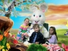 Easter Photos: Kids Sitting With The Easter Bunny