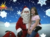 Christmas Photos: Never to old to sit on Santa's lap