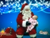 Christmas Photos: Santa With Baby