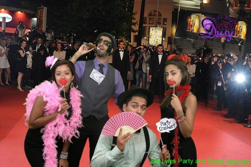 Red Carpet party picture, fun things to do at wedding