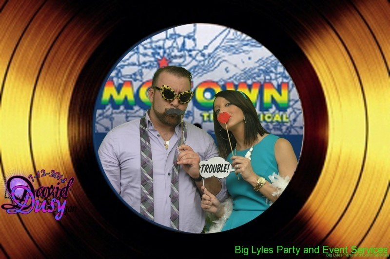 Motown record label fun party theme