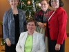 Leadership group at the Dominican sisters pose together for a picture at Christmas party.