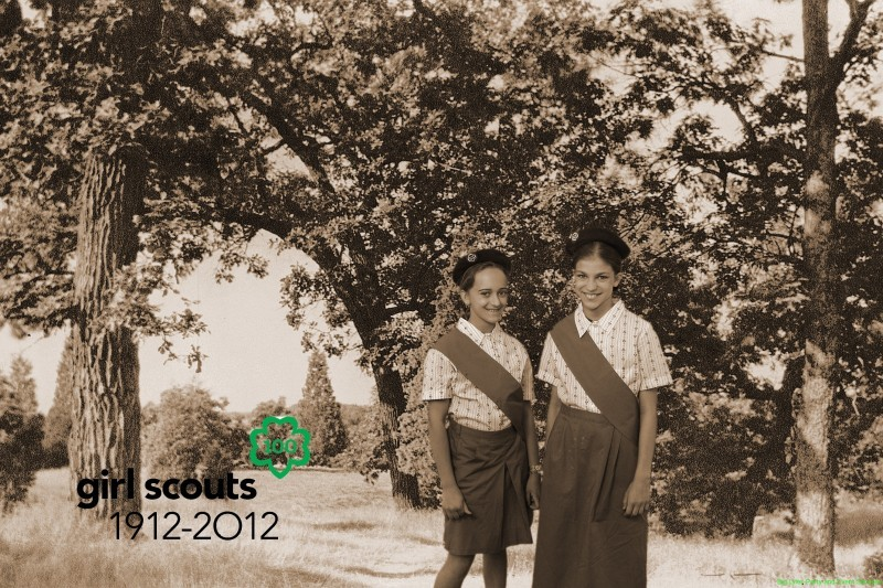 Girl Scouts remember summer camp