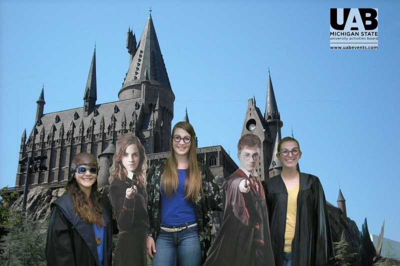 Michigan State Students visit Hogwarts University