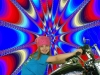 Motorcycle Photos: Young Colorful Biker