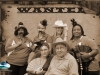 Senior Citizens enjoying Old Time photo event