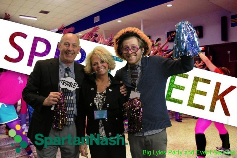 creating fun branded photos for trade shows