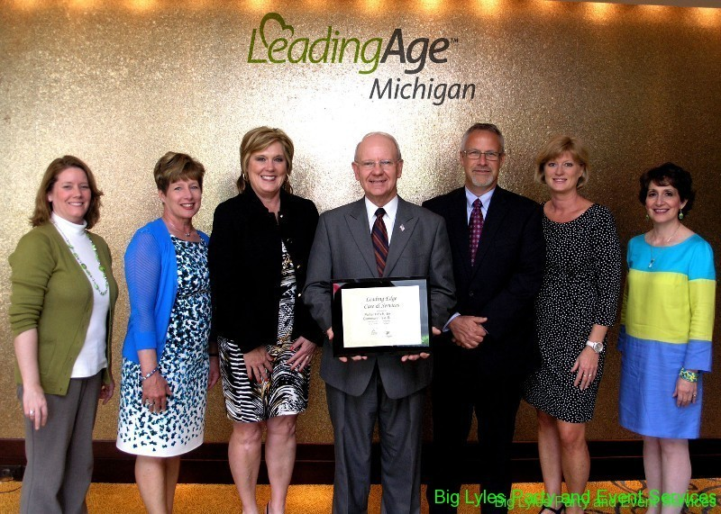 A groups of Leading Age Organisation awards pictures