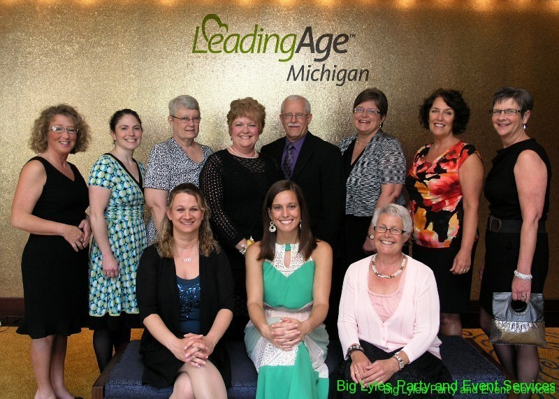 Leading Age Organisation awards group pictures