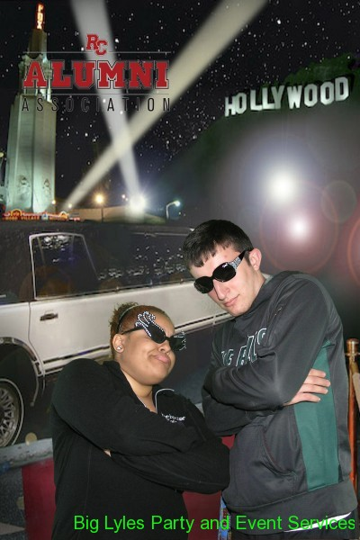 couple by limo