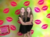 "Two girls show best ""kissy"" lips as they pose for the camera!"