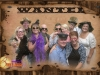 funny group shot on old time wanted poster