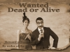Old Time Photos: Party Duo on Wanted Poster