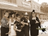 Old Time Photos: Party Goers on Main St.