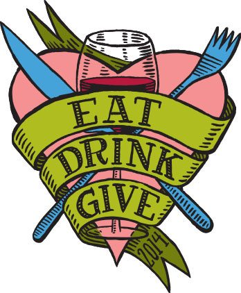 Eat Drink Give 2014 Logo