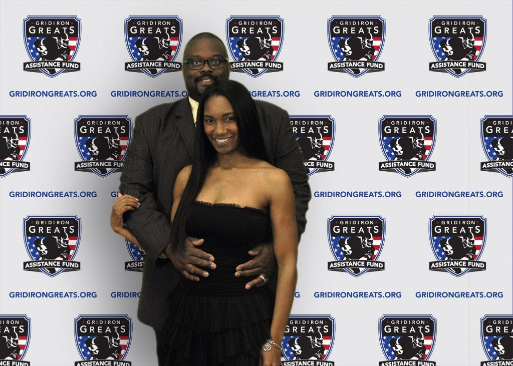 NFL Player and Wife