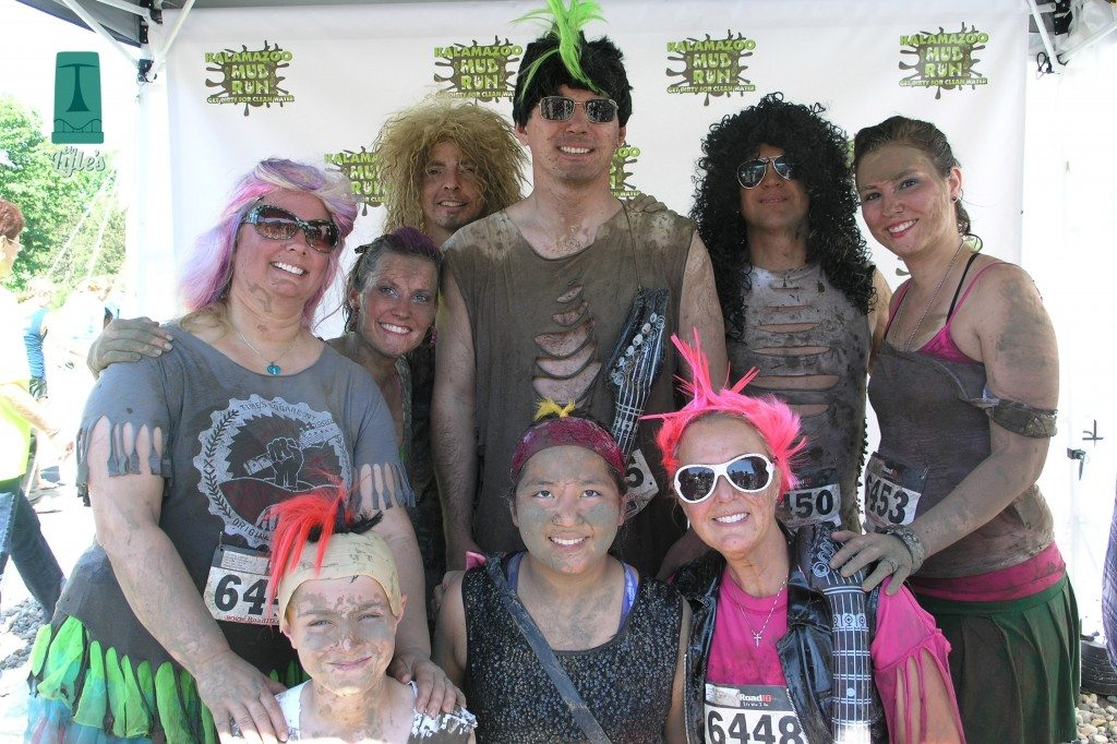 2014 Mud run team members