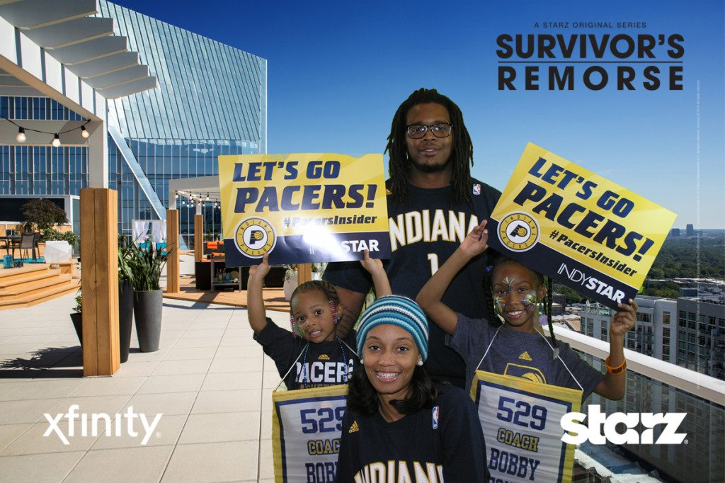 Family fun at Pacers game opening night
