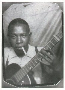 Only two known photographs of Legendary blues pioneer Robert Johnson t